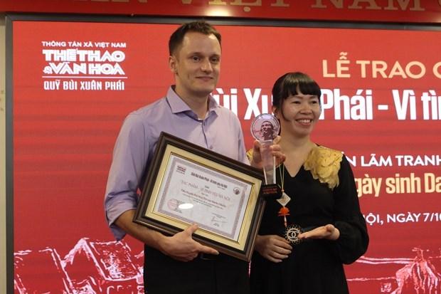 Le compositeur Phu Quang recoit le Grand Prix du Prix Bui Xuan Phai hinh anh 4