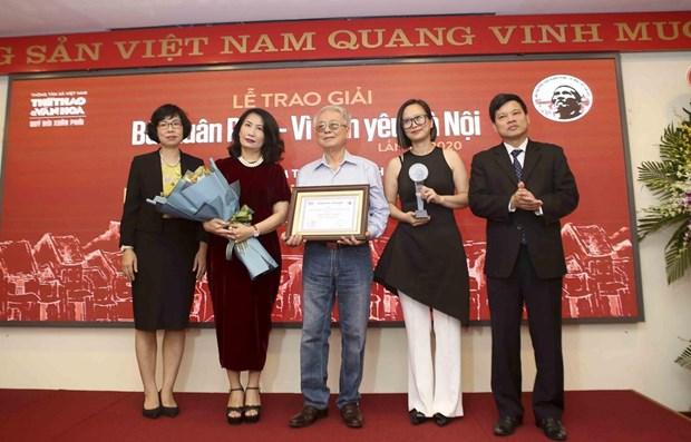 Le compositeur Phu Quang recoit le Grand Prix du Prix Bui Xuan Phai hinh anh 1