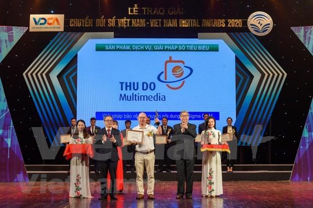 Vietnam Digital Awards 2020: pres de 60 entreprises honorees hinh anh 2