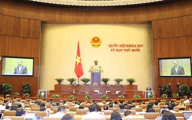 L'Assemblee nationale adopte le plan de developpement socio-economique 2021 hinh anh 1