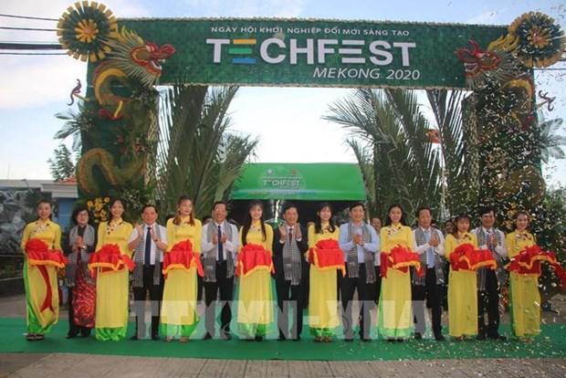 Techfest Mekong 2020 : lieu de rencontre de createurs de startups hinh anh 1