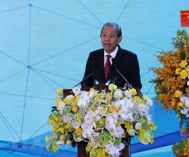Conference sur la promotion de l'investissement dans la province de Binh Phuoc hinh anh 1