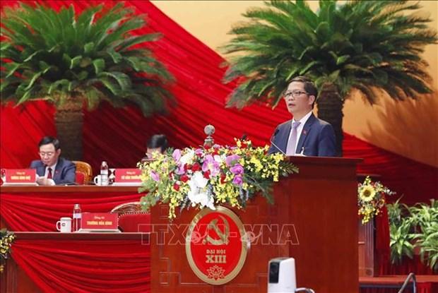 13e Congres du Parti: l'autonomie dans le developpement economique hinh anh 1
