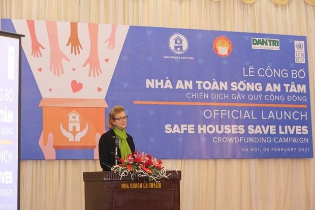 La campagne du PNUD aide a construire des maisons resistantes aux inondations dans le Centre Vietnam hinh anh 1