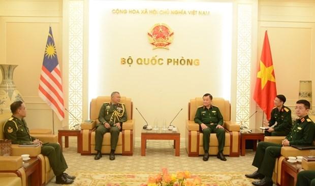 Le Vietnam et la Malaisie cherchent a promouvoir la cooperation dans la defense hinh anh 1