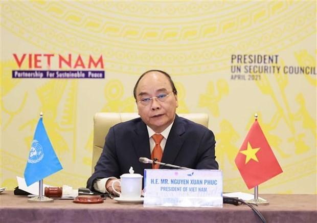 La confiance et le dialogue sont essentiels pour une paix durable, selon le president vietnamien hinh anh 2