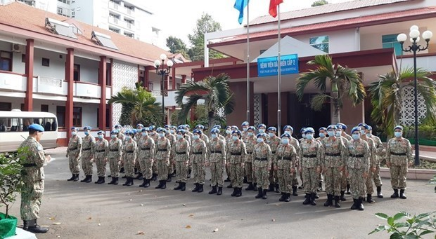 La force de maintien de la paix du Vietnam est tres appreciee hinh anh 1