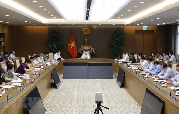 Le vice-PM Vu Duc Dam ordonne les actions plus drastiques contre le COVID-19 hinh anh 1