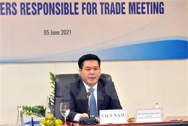 Assurer le fonctionnement efficace de la chaine d'approvisionnement des biens au sein de l'APEC hinh anh 1