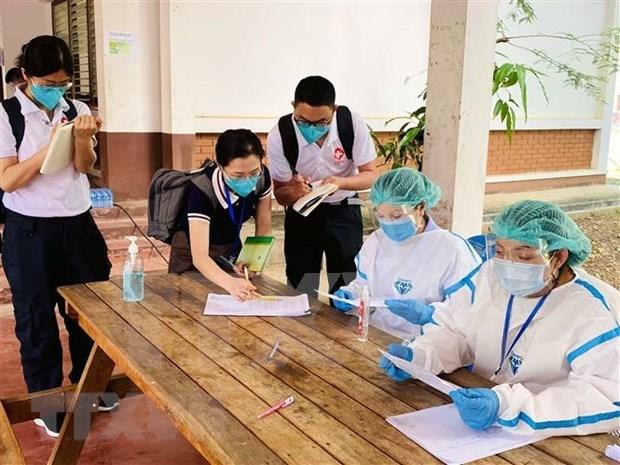 La R. de Coree fournit du materiel medical pour soutenir la lutte anti-COVID-19 au Laos hinh anh 1