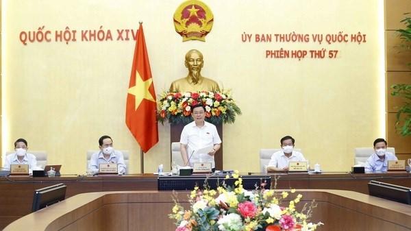 Cloture de la 57e session du Comite permanent de l'Assemblee nationale hinh anh 1