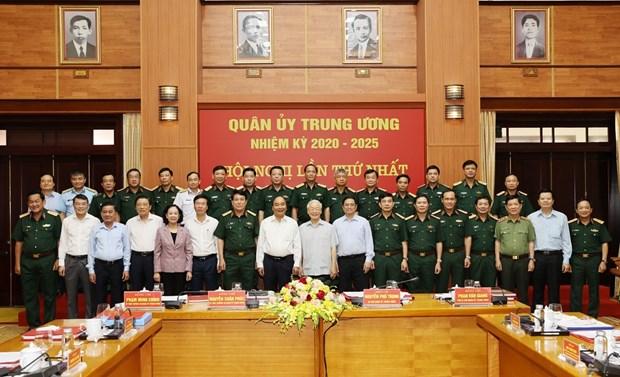 La Commission militaire centrale pour le mandat 2020-2025 se reunit hinh anh 1