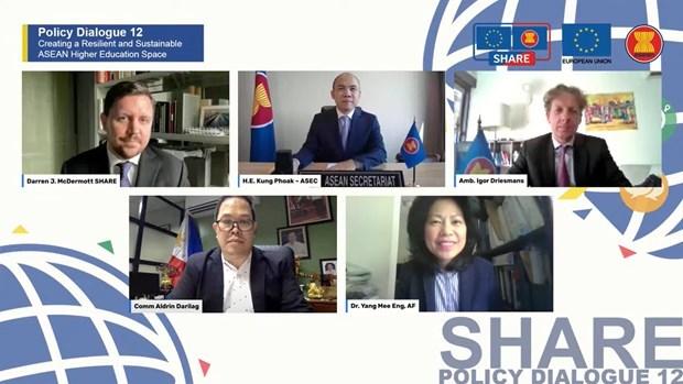 L'ASEAN et l'UE maintiennent leur soutien a l'internationalisation de l'enseignement superieur hinh anh 1