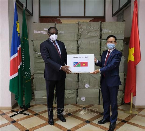 Le peuple vietnamien aide les pays africains dans le combat contre le COVID-19 hinh anh 1