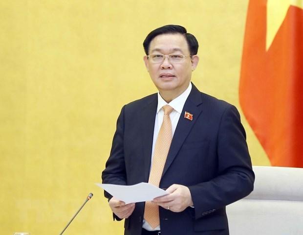 Le president de l'AN participera a la 5e Conference mondiale des presidents de parlement hinh anh 1