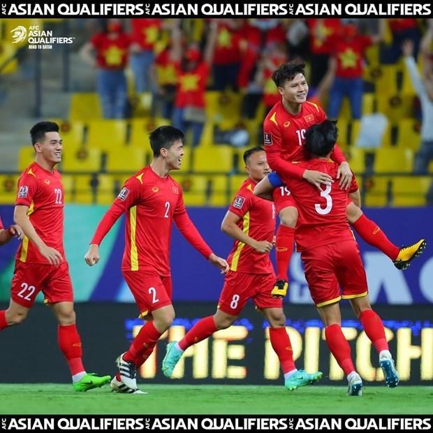 Mondial 2022 : le Vietnam joue avec un joueur de moins et perd contre l'Arabie saoudite hinh anh 1