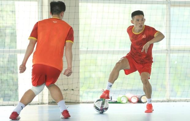 La FIFA salue l'equipe vietnamienne de futsal avant la Coupe du monde 2021 hinh anh 1