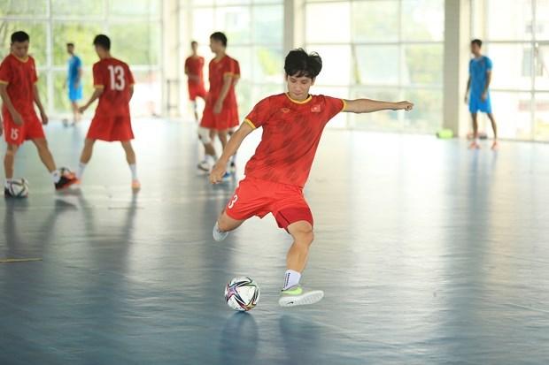 La FIFA salue l'equipe vietnamienne de futsal avant la Coupe du monde 2021 hinh anh 2