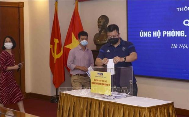 La VNA contribue au programme de lutte contre le COVID-19 hinh anh 2