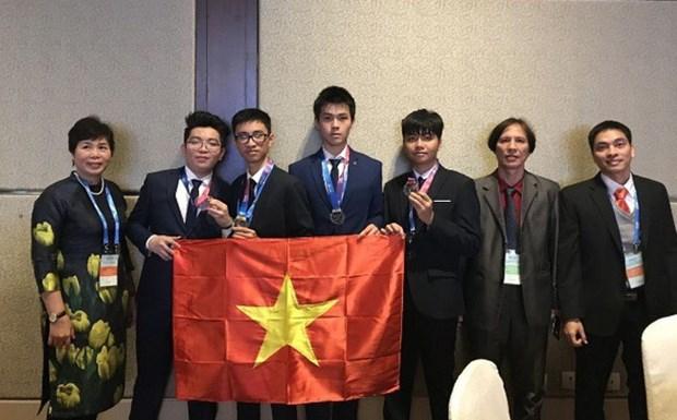 Le Vietnam prime aux Olympiades internationales d'astronomie et d'astrophysique 2018 hinh anh 1