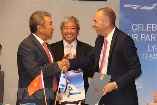 Vietnam Airlines et El Al Israel Airlines signent un accord de partage de codes hinh anh 1