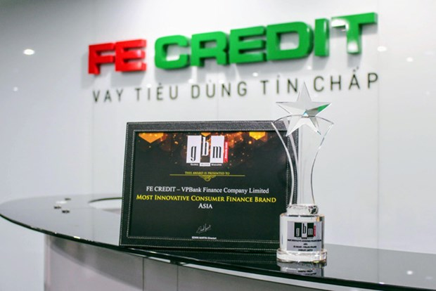 FE CREDIT remporte le prix « Most innovative consumer Finance Brand Asia 2018 » hinh anh 1