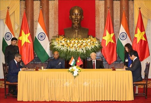 Approfondissement du partenariat strategique integral Vietnam-Inde hinh anh 1