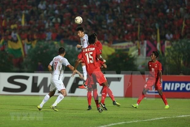 AFF Suzuki Cup 2018 : Le Vietnam fait match nul 0-0 avec le Myanmar dans le groupe A hinh anh 1