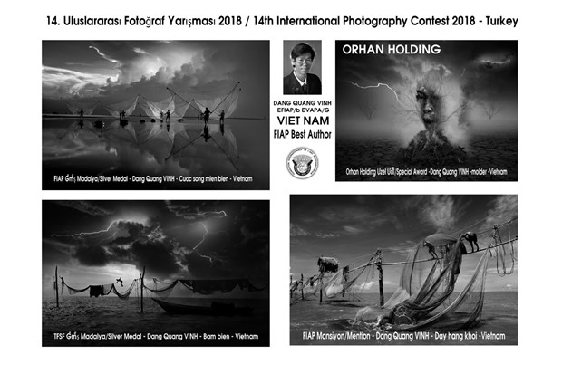 Le Vietnam prime a un concours photographique international en Turquie hinh anh 1