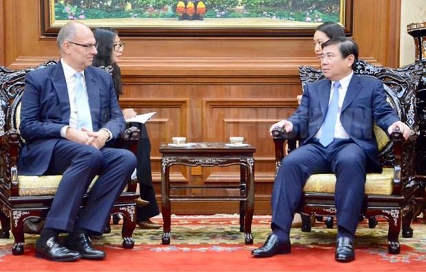 Ho Chi Minh-Ville et Danemark renforcent leur cooperation hinh anh 1