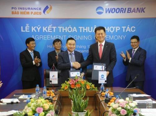 La compagnie generale d'assurance PJICO s'associe a la banque sud-coreenne Woori hinh anh 1
