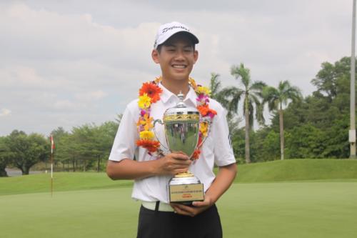 Le Vietnamien Dang Quang Anh inscrit au classement mondial pour les golfeurs amateurs hinh anh 1