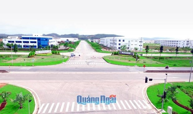 VSIP Quang Ngai: 321 millions de dollars d'IDE supplementaires hinh anh 1