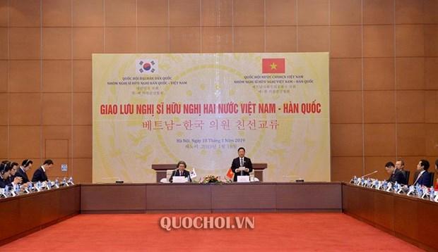 Echange entre des deputes d'amitie vietnamiens et sud-coreens hinh anh 1