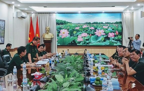 Le Vietnam et le Cambodge renforcent leur cooperation dans la medecine militaire hinh anh 1