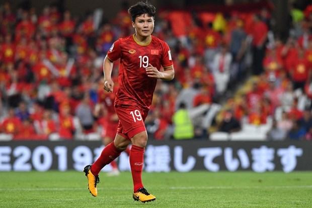 Asian Cup 2019 : Quang Hai, Van Hau et Van Lam au sommet hinh anh 1