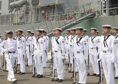 Deux avions de la Force maritime d'autodefense japonaise au Vietnam hinh anh 1