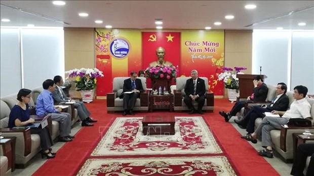 La BAD envisage la cooperation avec Binh Duong dans les projets de l'environnement aquatique hinh anh 1