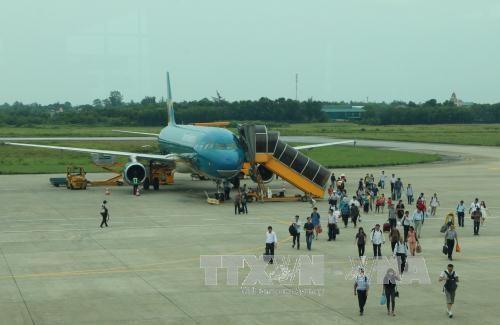 Nghe An : Inauguration de la ligne internationale Vinh-Bangkok hinh anh 1