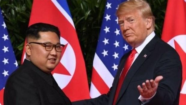 Sommet Etats-Unis-RPDC: les medias nord-coreens saluent la visite du president Kim Jong-un au VN hinh anh 1