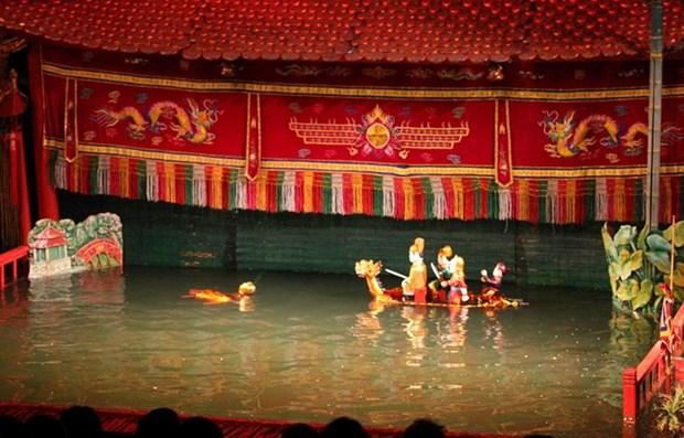 Les marionnettes sur l'eau du Vietnam impressionnent le public hinh anh 1