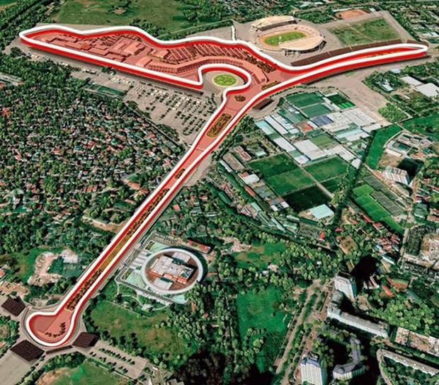 Hanoi accelere le defrichage des terrains pour le circuit du Grand Prix de Formule One hinh anh 1