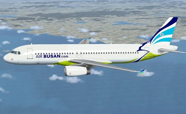 La compagnie aerienne sud-coreenne Air Busan augmente le nombre ses vols vers Da Nang hinh anh 1