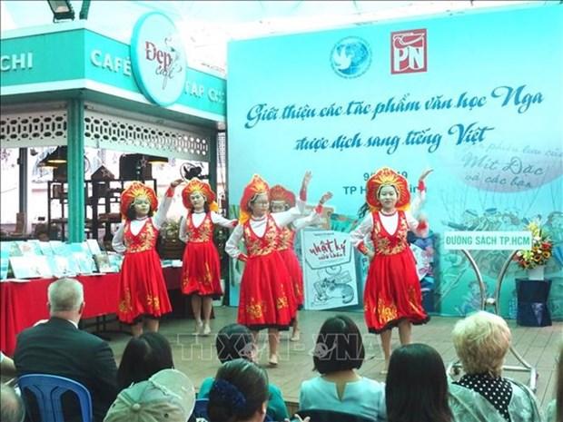 Presentation des œuvres litteraires russes en langue vietnamienne a Ho Chi Minh-Ville hinh anh 1