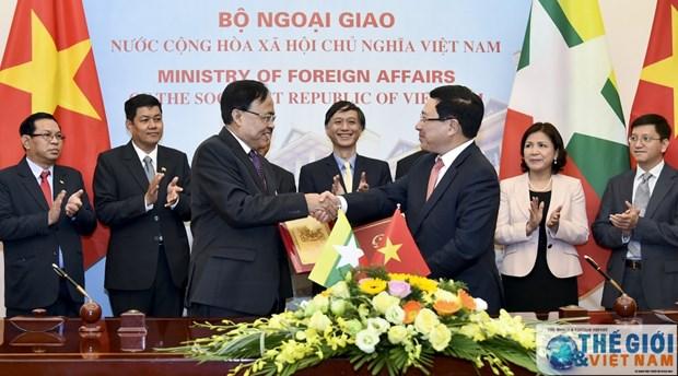 La 9e reunion du Comite mixte sur la cooperation Vietnam-Myanmar hinh anh 1
