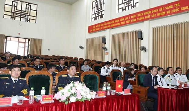 Colloque commun entre les forces navales vietnamiennes et japonaises hinh anh 1