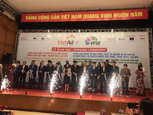Imprimerie des emballages publicitaires: ouverture de l'exposition VPSE 2019 a Hanoi hinh anh 1