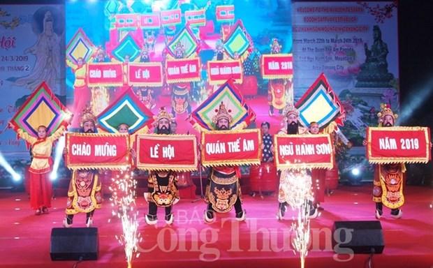 La fete bouddhique Quan The Am 2019 a Da Nang hinh anh 1
