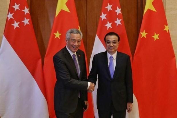 La Chine et Singapour promeuvent leur cooperation multiforme hinh anh 1