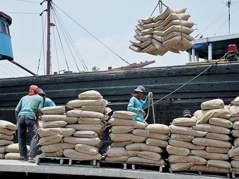 Plus de 35 millions de tonnes de ciment ecoulees en quatre mois hinh anh 1
